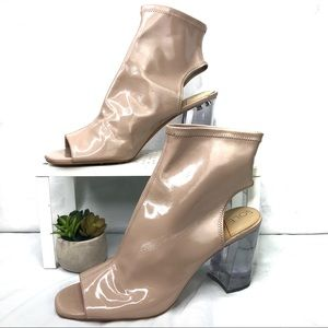 Sole Society Clear Heels | Size 13